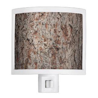 Tronco de árbol imperecedero lámparas de noche