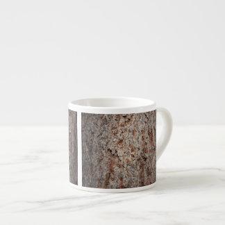 Tronco de árbol imperecedero taza espresso