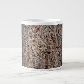 Tronco de árbol imperecedero taza grande