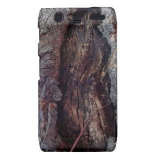 Tronco de árbol natural orgánico por Sharles Motorola Droid RAZR Carcasa