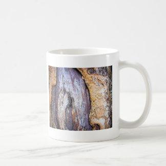 Tronco de árbol taza