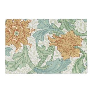 Tronco del estampado de flores de William Morris Tapete Individual