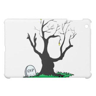 Tronco grande del árbol muerto de la lápida mortua