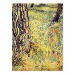 Troncos de árbol de Vincent van Gogh Tarjeta Postal