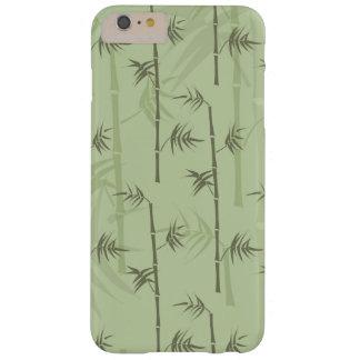 Troncos de bambú funda de iPhone 6 plus barely there