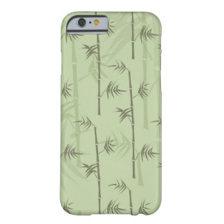 Troncos de bambú funda para iPhone 6 barely there