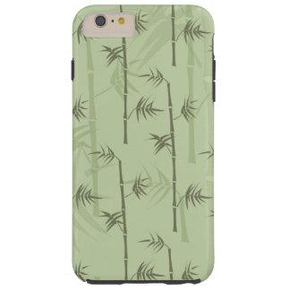 Troncos de bambú funda para iPhone 6 plus tough