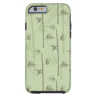 Troncos de bambú funda para iPhone 6 tough