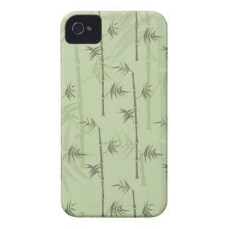 Troncos de bambú iPhone 4 carcasas