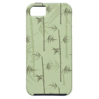Troncos de bambú iPhone 5 carcasa