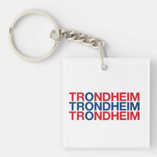 TRONDHEIM KEYCHAIN