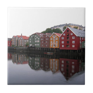Trondheim, Norway Ceramic Tile