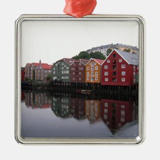 Trondheim, Norway Metal Ornament