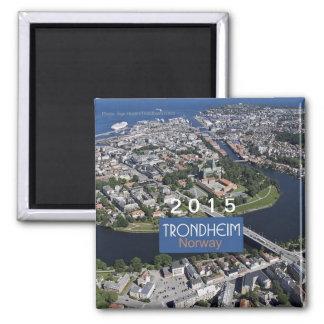 Trondheim Norway Travel Magnet Change Year
