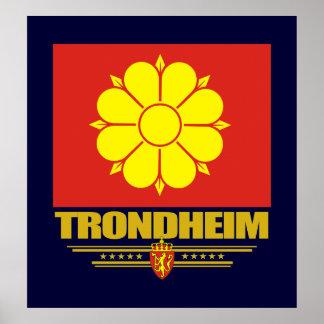 Trondheim Poster