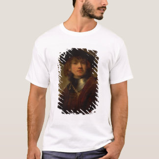 Tronie' of a Young Man with Gorget and Beret T-Shirt