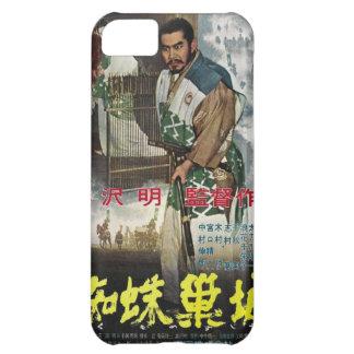 Trono de Kurosawa del caso del iPhone del cartel Funda Para iPhone 5C