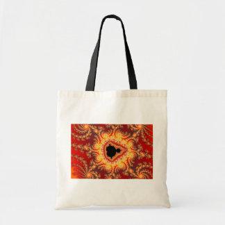 Trono de satan - fractal bolsa tela barata