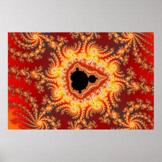 Trono de Satan - poster del fractal