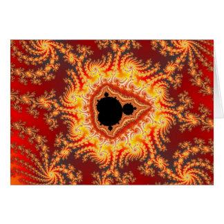 Trono de Satan - tarjeta del fractal