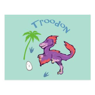 Troodon lindo postales