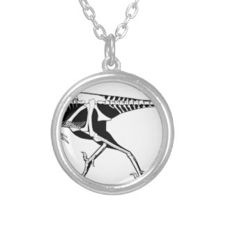 Troodon Silver Plated Necklace