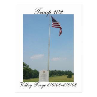 Troop 102 Postcard