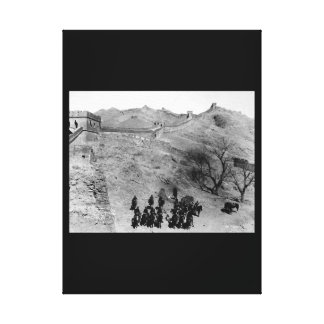 Troop L, 6th U.S. Cavalry_War Image Canvas Print