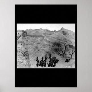 Troop L, 6th U.S. Cavalry_War Image Poster