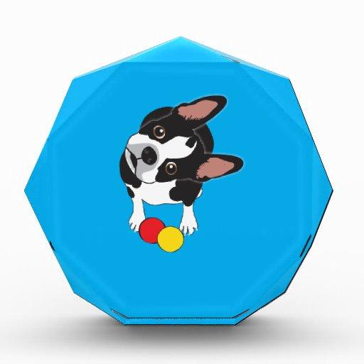 Trooper the Boston Terrier Acrylic Award