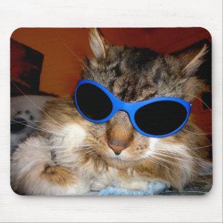 """Trooper The Cat"" Cool Dude! Mousepad"