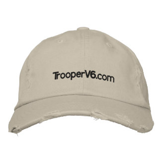 TrooperV6.com Ball Cap Embroidered Hats