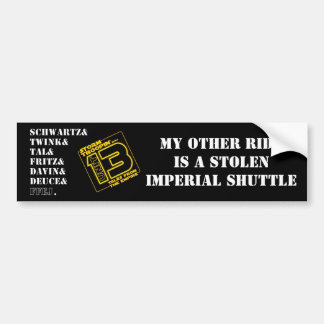 Troopin' with Unit 13 Bumper Sticker