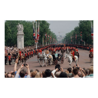 Trooping of the Colour Print