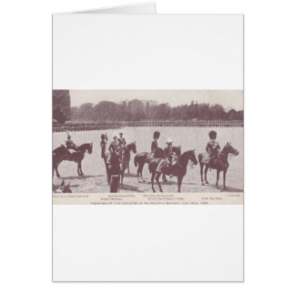 Trooping the Colour 1903 1 Card