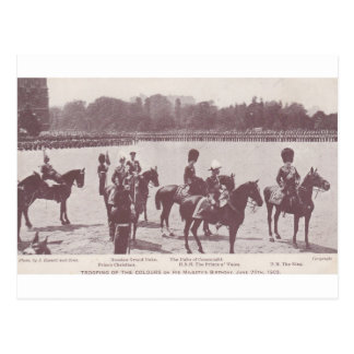 Trooping the Colour 1903 1 Postcard