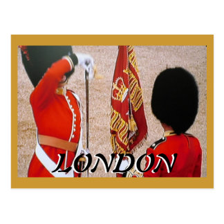 Trooping the Colours Diamond Jubilee postcard