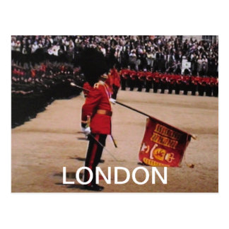 Trooping the Colours London UK postcard