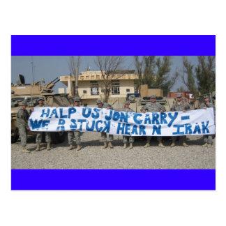 troops Postcard