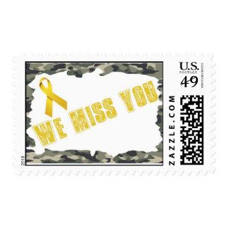 Troops - We miss you Postage