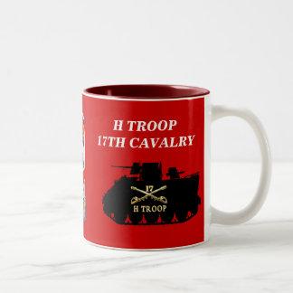 Tropa de H, 17ma taza de la pista de la caballería