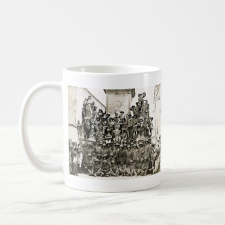Tropas 1915 del Imperio británico Taza