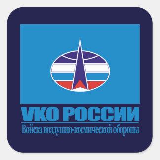Tropas aeroespaciales rusas de la defensa etiqueta