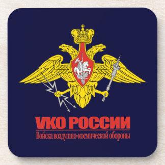 Tropas aeroespaciales rusas de la defensa posavasos de bebidas