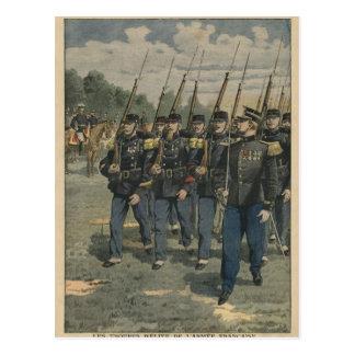 Tropas de la élite del ejército francés postal