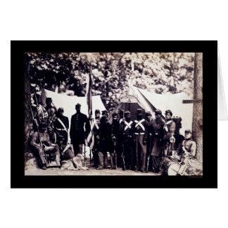 Tropas de la milicia en Arlington, VA 1861 Tarjeta De Felicitación