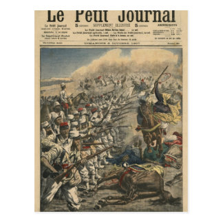 Tropas del ejército francés, franceses de la élite tarjeta postal