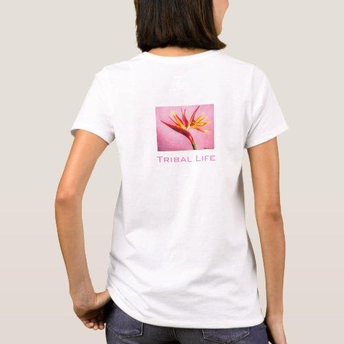 Tropcial Flower T_Shirt