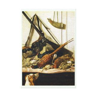 Trophies of the Hunt, 1862 Claude Monet Canvas Print