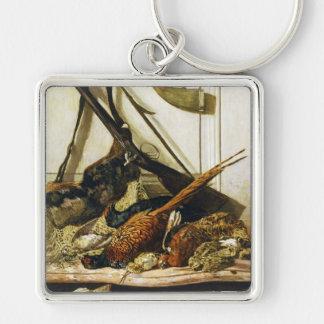Trophies of the Hunt, 1862 Claude Monet Key Chains